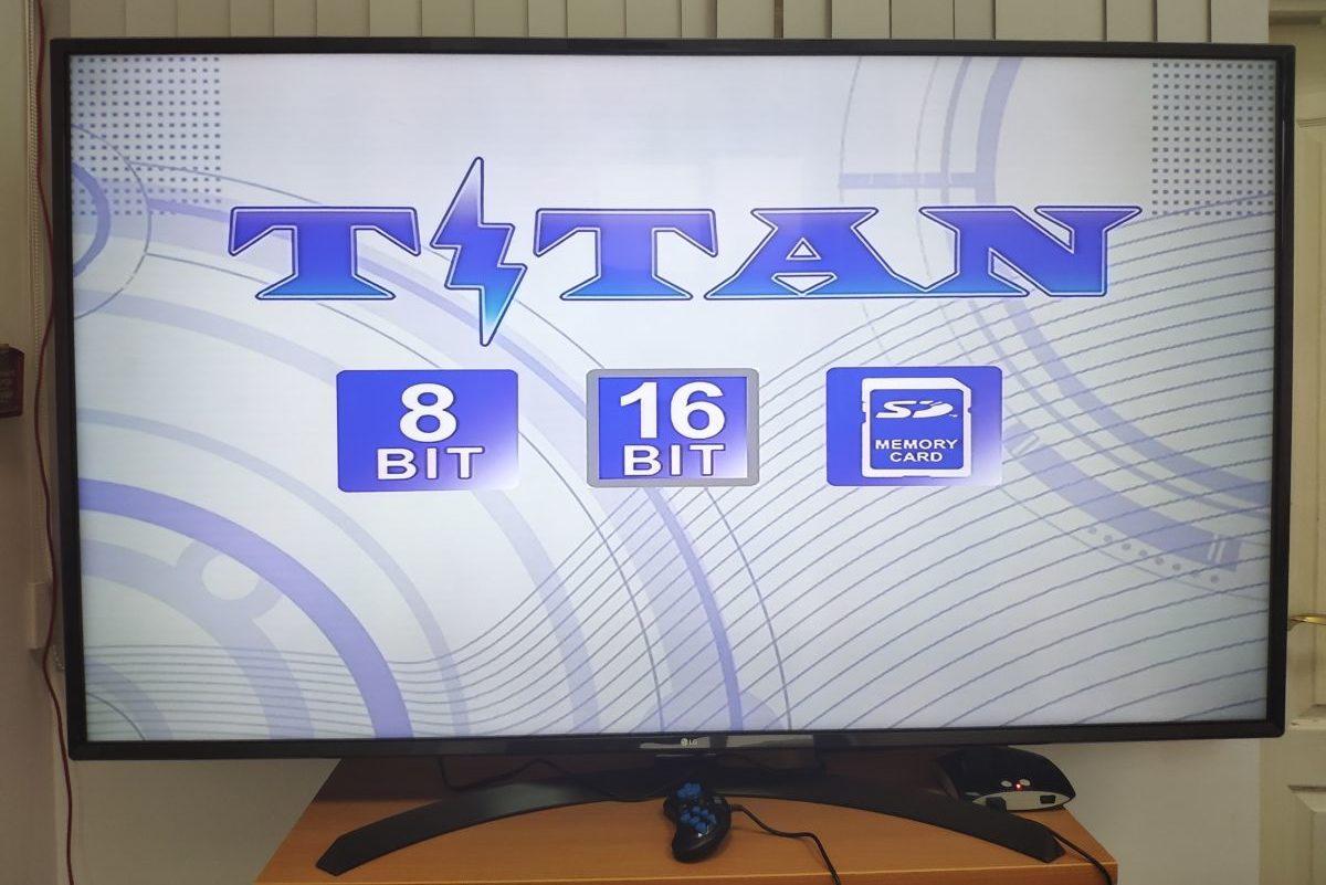 Вспомнить молодость: обзор 8/16-битной игровой приставки Titan II