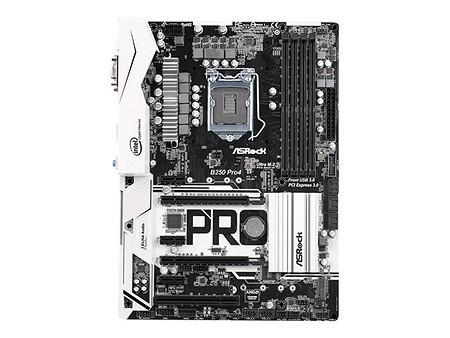 ASRock B250 Pro4 (90-MXB3S0-A0UAYZ)