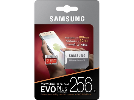Samsung EVO Plus 256GB (MB-MC256G)