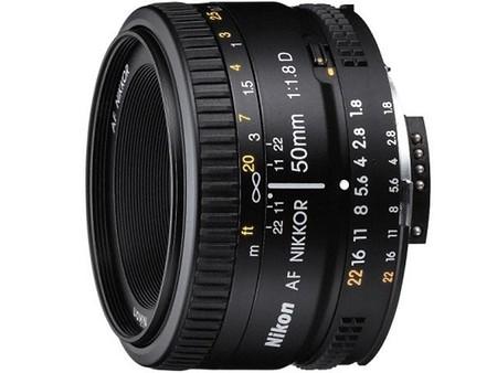 Nikon AF NIKKOR 50 mm 1:1,8D