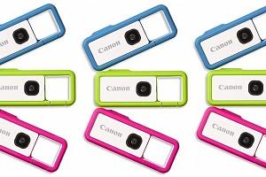 Canon представила необычную миниатюрную камеру-брелок