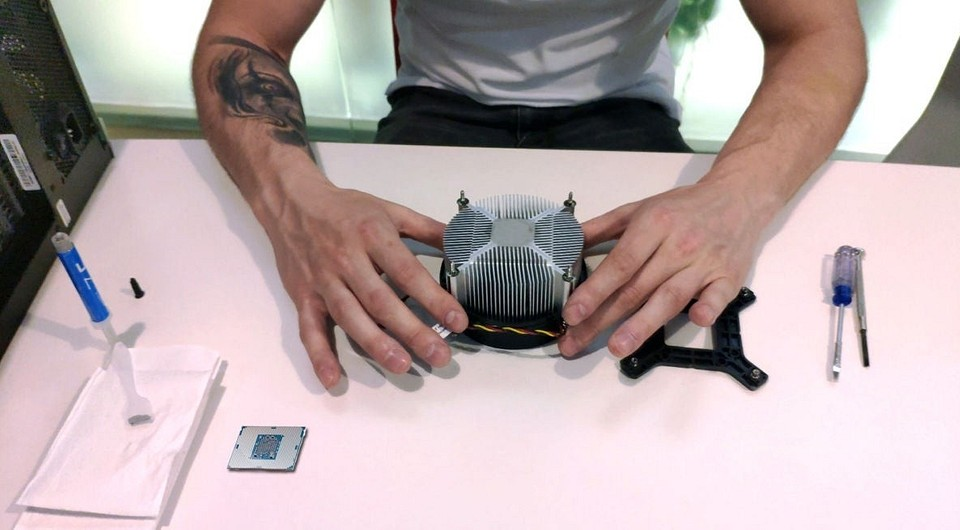 Как правильно наносить термопасту на процессор?