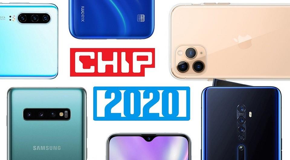Топ-10 смартфонов 2020 года