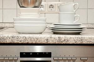 Что делать, если из посудомоечной машины не уходит вода