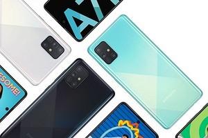 Смартфон Samsung Galaxy A71 получил гигантский «дырявый» дисплей и четверную камеру