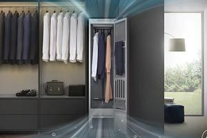 Samsung привезла в Россию умный шкаф, который спасет вашу одежду от бактерий, вирусов и аллергенов