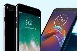 Почему в рекламе на экранах смартфонов Motorola указано время 11.35, а на iPhone - 09.41?