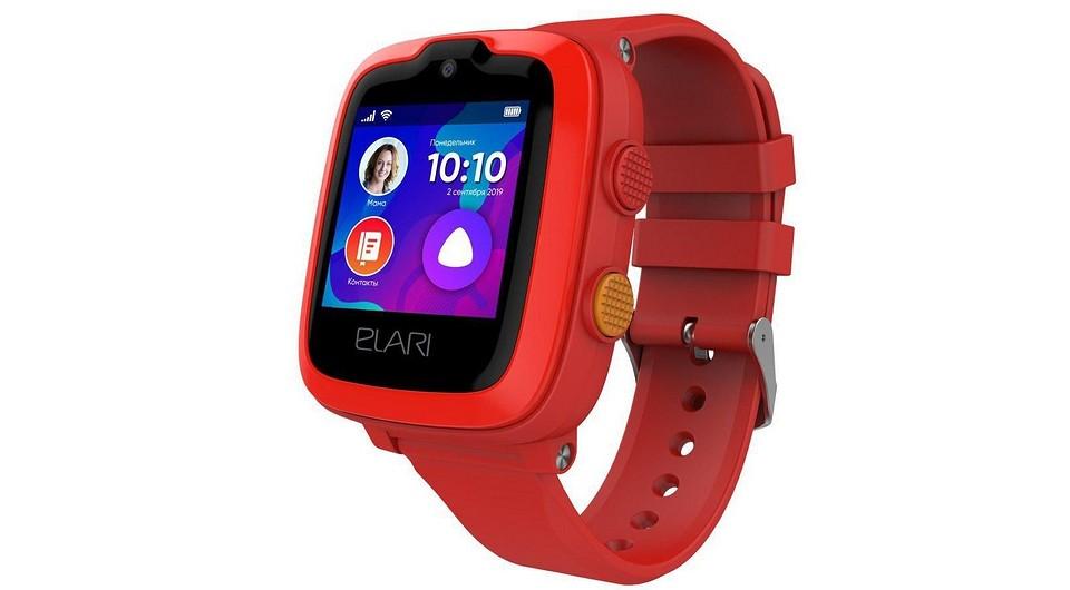 Стартовали продажи умных часов ELARI KidPhone 4G для детей: Алиса и год мобильной связи в комплекте