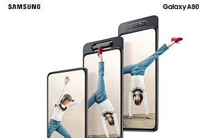 Samsung представила уникальный смартфон Galaxy A80