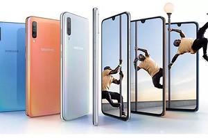 Samsung представила смартфон Galaxy A70: большие экран и аккумулятор по разумной цене