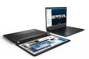 Ноутбук Acer TravelMate P6 весит всего 1,1 кг, а работает почти целые сутки