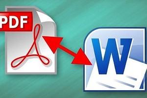 Конвертируем PDF в Word: три простых способа