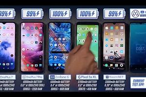 Свежие флагманские смартфоны сравнили по времени работы в реальных условиях