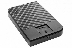 Представлен внешний жесткий диск, защищенный сканером отпечатков пальцев