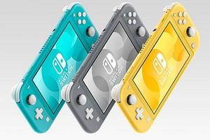 Nintendo представила новую портативную игровую приставку Switch Lite
