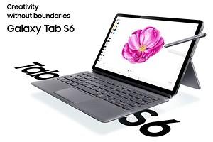 Samsung официально представила флагманский планшет Galaxy Tab S6