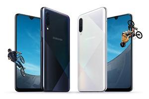 Samsung представила новые версии доступных бестселлеров — Galaxy A30s и Galaxy A50s