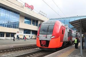 РЖД впервые показала беспилотный поезд на ходу