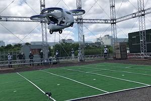 NEC представил действующий прототип летающего автомобиля
