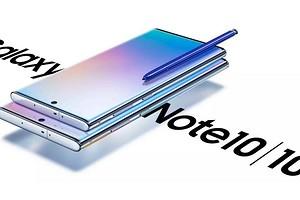 Флагман с огромным экраном Samsung Galaxy Note10 представлен официально: характеристики и российские цены