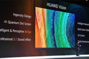 Huawei представила первый телевизор с собственной операционной системой