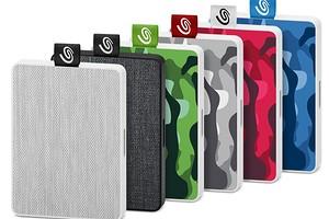 Seagate представила накопители One Touch SSD Special Edition с уникальным дизайном