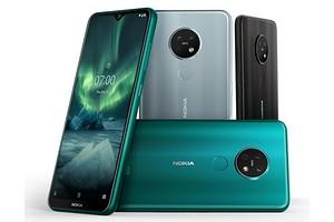 Nokia официально представила недорогие смартфоны Nokia 7.2 и Nokia 6.2