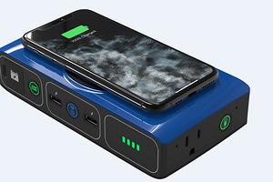 Представлен внешний аккумулятор, от которого можно зарядить не только смартфон, но и автомобиль