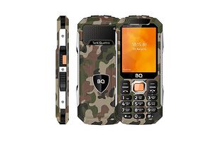 Российский бренд представил брутальный телефон с четырьмя SIM-картами и двумя фонариками