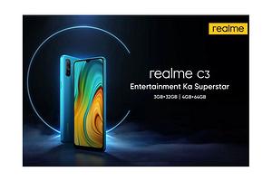 Смартфон Realme C3 получил большой аккумулятор емкостью 5000 мАч