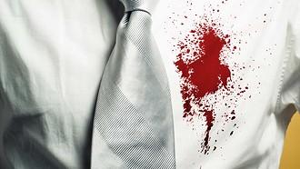 Если пятно от крови свежее, дост...