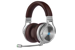 Беспроводные наушники Corsair Virtuoso поддерживают объёмное звучание 7.1
