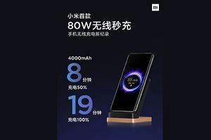 Xiaomi анонсировала самую быструю в мире беспроводную зарядку