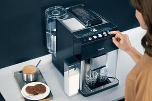 Siemens представил автоматическую кофемашину с возможностью управления голосом