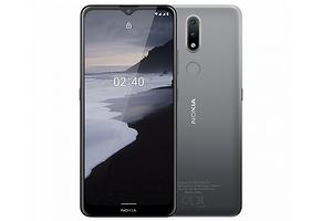 В Россию прибыл недорогой финский смартфон с чистой Android 10 - Nokia 2.4