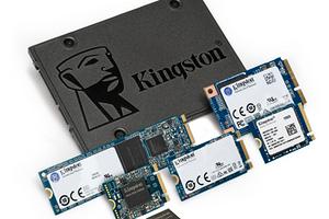 Kingston представил новую линейку твердотельных накопителей Design-In