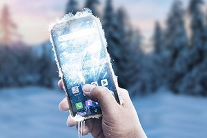 Гаджет для российских зим: первый в мире сверхзащищенный 5G-смартфон способен работать при -30°C