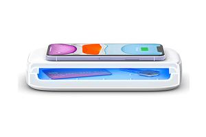 Представлена станция, которая умеет одновременно заряжать смартфон и стерилизовать ваши вещи