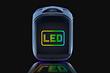 В России представили рюкзаки с большим настраиваемым LED-экраном