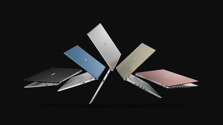 Acer представила новые ноутбуки семейства Aspire