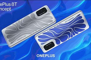 OnePlus представила смартфон с меняющей цвет задней панелью