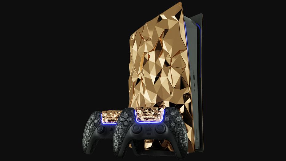 Апогей понтов: российская компания выпустит люкс-версию PlayStation 5, украшенную 20 кг золота
