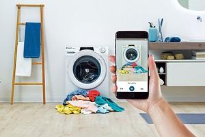 Обзор стиральной машины Candy Rapid'O: умнеет на глазах