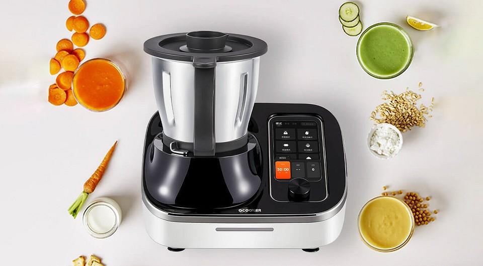 Кулинарный робот от Xiaomi обещает заменить более 20 кухонных приборов