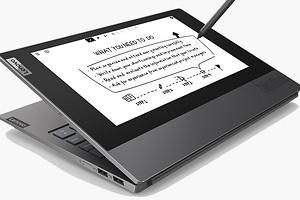Ноутбук Lenovo ThinkBook Plus с двумя дисплеями появится в продаже этой весной