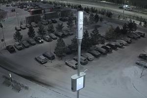 В России появился первый «умный» столб для создания города будущего