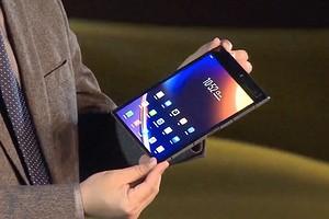 Производитель первого в мире смартфона с гибким дисплеем представил второе поколение гаджета