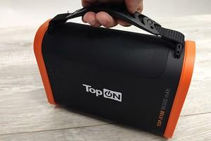 Видеообзор: пауэрбанк TopON TOP-X100 на 96 000 мАч