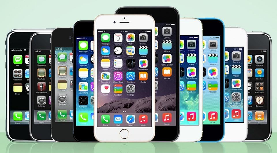 История iPhone: все модели по порядку