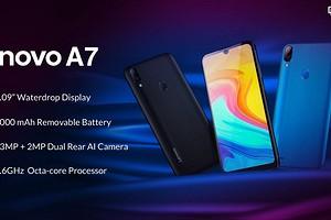 Анонсирован очередной дешевый китайский смартфон с большим аккумулятором - Lenovo A7